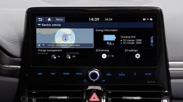 Hyundai Ioniq Electric - infotainment