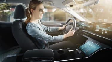 Bosch virtual visor - lady