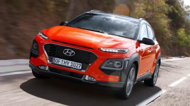 Hyundai Kona diesel - front