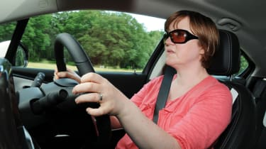 Vauxhall Ampera driving