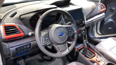 Subaru Forester 2018 New York interior