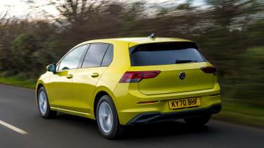 Volkswagen Golf - rear tracking