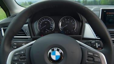 BMW 2 Series Active Tourer facelift - steering wheel