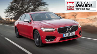 Best used executive car 2021 - Volvo S90