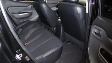 Fiat Fullback pick-up - show rear seats