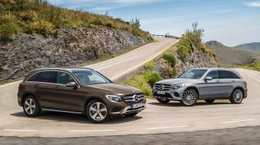 Mercedes GLC double