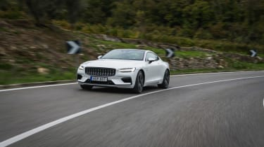 New Polestar 1 2020 on the road
