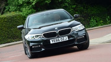 BMW 5 Series long termer - first report front