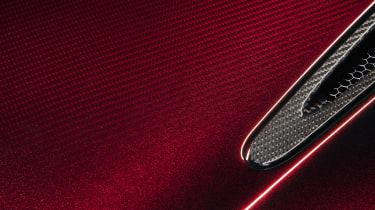 McLaren 720S Velocity detail