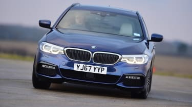 BMW 5 Series Touring - front action