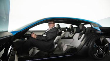 Peugeot Instinct concept - John McIlroy inside
