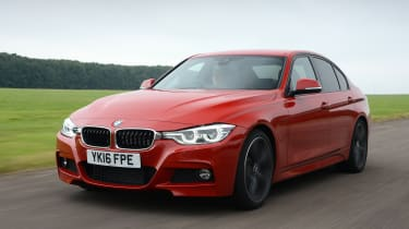 BMW 330e 2016 - front tracking