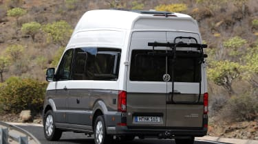 Volkswagen Grand California - rear cornering