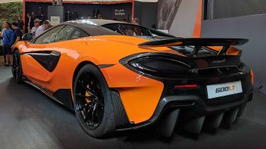 McLaren 600LT rear quarter