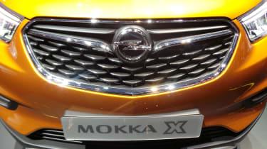 Vauxhall Mokka X Geneva - grille