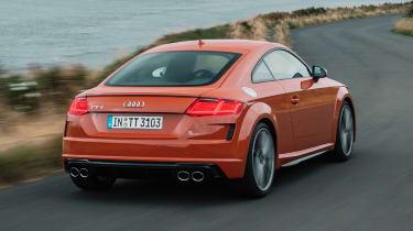 Audi TT S - rear