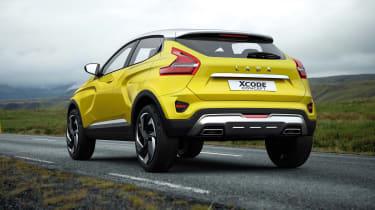 Lada XCode concept rear