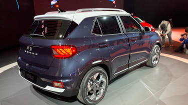 Hyundai Venue - New York rear