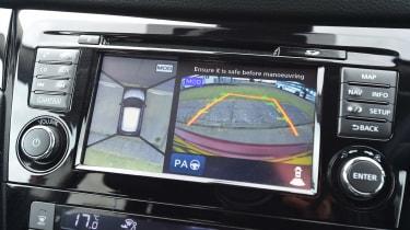 MG GS vs rivals - Nissan Qashqai infotainment