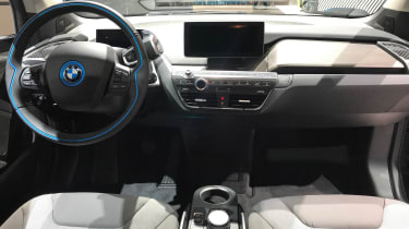 BMW Vision Dynamics concept - dash