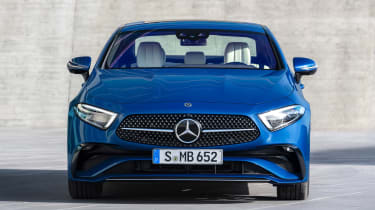 Mercedes CLS - full front