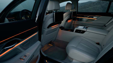 New 2015 BMW 7-Series  cabin rear night