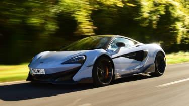 McLaren 600LT - front action