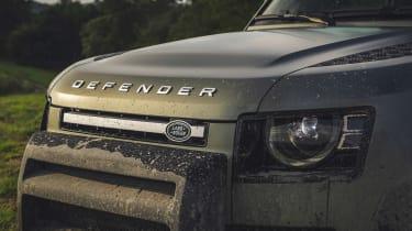 2019 Land Rover Defender grille