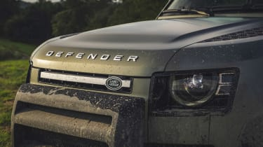 2019 Land Rover Defender grille