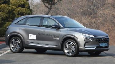 Hyundai NEXO static front quarter