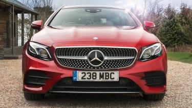 Mercedes E 350 d - front