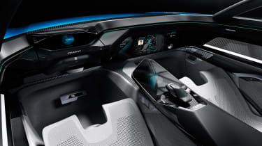 Peugeot Instinct concept - dash studio