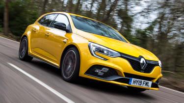Renault Megane R.S. Trophy - front action