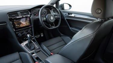 Used Volkswagen Golf R - cabin