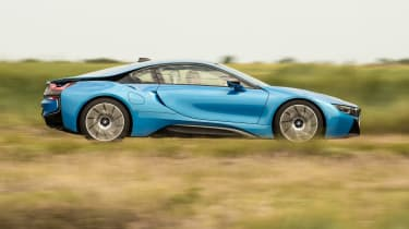 Used BMW i8 - side