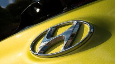 Hyundai Kona Premium SE 2017 - hyundai badge