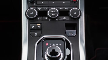 Range Rover Evoque Ember - centre console