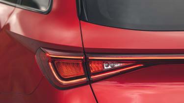 Cupra Leon Estate - rear lights