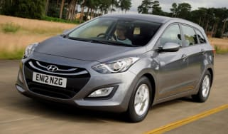 Hyundai i30 Tourer front action