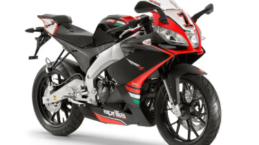 Best 125cc bikes - Aprilia RSV4 125 race replica