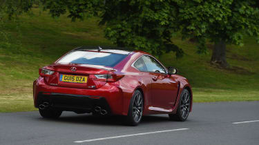 Lexus RC F Carbon Edition - rear