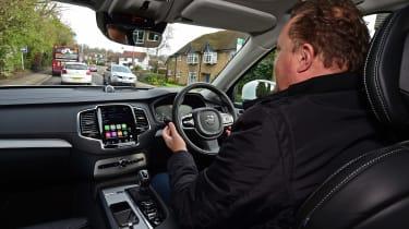 Volvo XC90 long term - self-driving