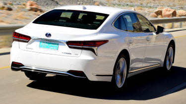 Lexus LS 500h 2018 review - rear