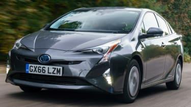 Toyota Prius front quarter