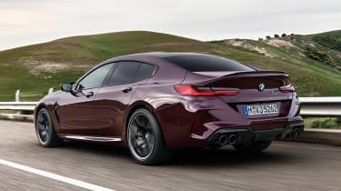 BMW M8 Gran Coupe - rear