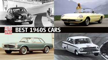 Best cars of the 60s - header