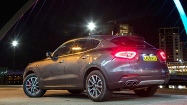 Maserati Levante GranLusso - rear static dark