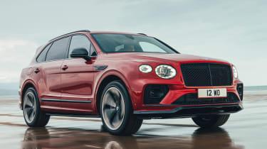 Bentley Bentayga S - front tracking