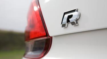 Volkswagen Scirocco R badge