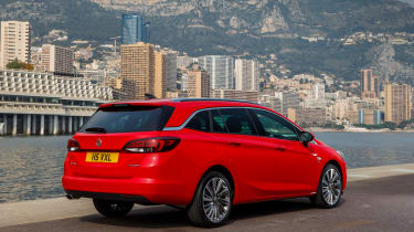 New Vauxhall Astra Sports Tourer - rear quarter 2